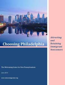 This recently-issued report details report on why immigrants come and stay in Philadelphia.