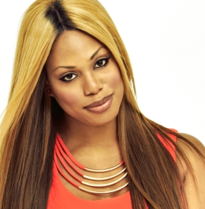 "LGBTQ activist and star of ""Orange Is the New Black"" Laverne Cox."