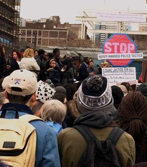 Calls for equitable policing, education funding, a living wage and more were issued at the MLK Day of  Action, Resistance, and Empowerment march.