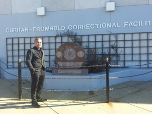 "PCHR Commissioner Saadiq Jabbar Garner and Deputy Director Randy Duque joined Mayor Michael A. Nutter and an array of community and faith leaders on New Year's Day for the annual Mayor's Office Day of Observance. Duque was one of 10 guest speakers at Curran Frohmhold Correctional Facility, answering questions and offering encouragement to some 100 inmates looking forward to beginning anew upon their return to society.  ""Sharing information about what PCHR does, in terms of protecting civil rights and enforcing the city's 'Ban the Box' law proved helpful,"" Duque said. ""These are individuals who may not otherwise get this valuable information. And this is information that literally could change the outcome of their lives."""