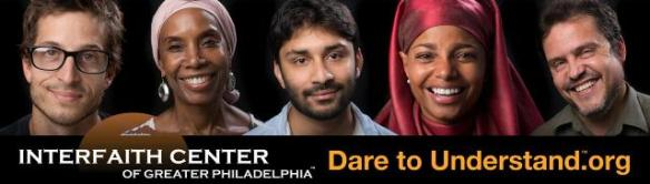 Counter hate campaign launched by the Interfaith Center of Greater Philadelphia.