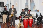The Philadelphia Clef Club Youth Jazz Ensemble provided the score for the evening.