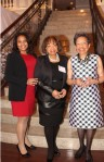 Dr. Nicole Farmer Woodard, Sandra Farmer and Dr. Rae Alexander-Minter came to the 2015 PCHR Awards, where namesake awards for their family members -- the legendary Clarence Farmer Sr. and Sadie T.M. Alexander -- , were bestowed to Bishop Dwayne Royster and POWER and the late Gloria Casarez, respectively.