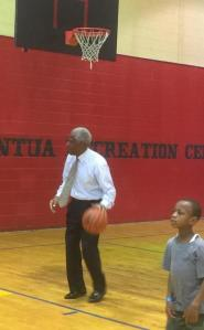 PCHR Commissioner Marshall E. Freeman proves he still has a few moves.