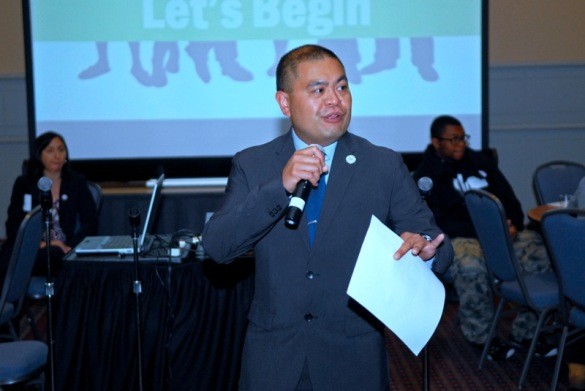 PCHR Deputy Director Randy Duque helped set the tone for the afternoon.