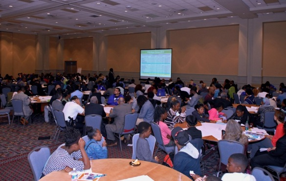 More than 200 young Philadelphians and their advocates hashed out their experiences and ideas in candid conversations on improving community-police relations.