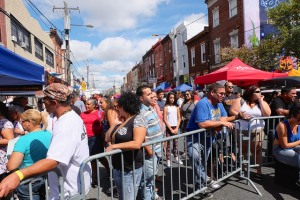 North 5th Street saw scores of people gathered for the annual Feria del Barrio. Photo courtesy of Taller Puertorriqueño.
