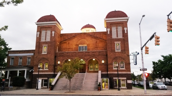"Started in 1873, this Birmingham landmark served as the heartbeat for the Alabama civil rights movement. In the heat of the struggle, this church was among many that fell victim to the evil gripping ""Bombingham."""