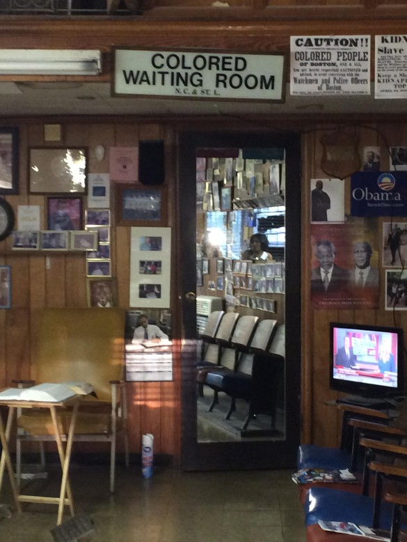 Touring the barbershop where the Rev. Dr. Martin Luther King Jr. frequented whenever he was in town and needed a shape-up humanized him and the other crusaders of that time, and also contextualized the commonalities of past and present on several levels.