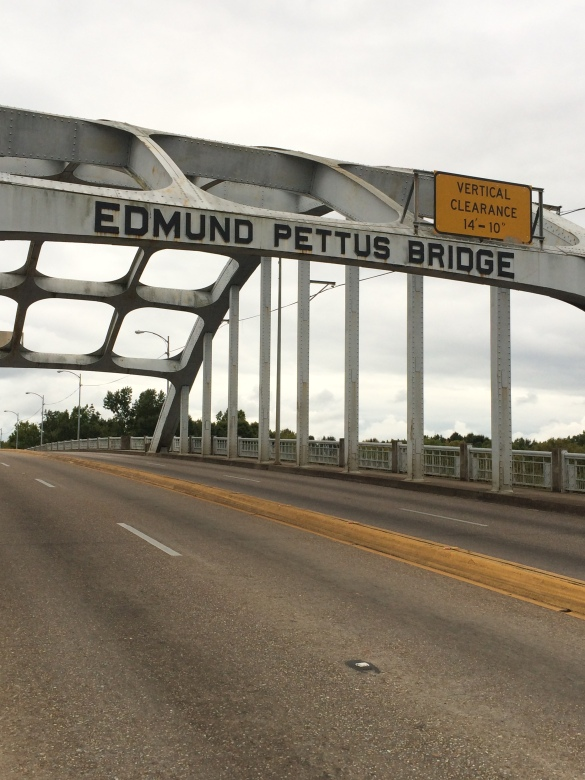 The site of Bloody Sunday in America: Selma's Edmund Pettus Bridge.