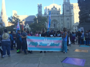 The 2015 Trans Walk drew people from across the city and region to march in solidarity.